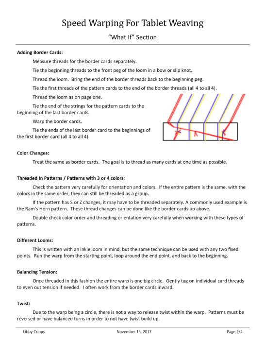 Speed warping guide page 2